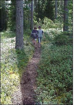 Daniela & Jonathan Rask på Heden. Foto: Bia Rask
